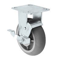 Rigid Top Lock Brake Caster -S30